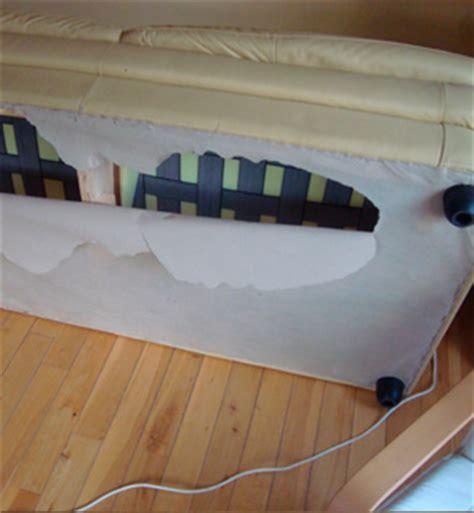 vinyl couch repair vinyl leather repair exles cupboard door seat repairs