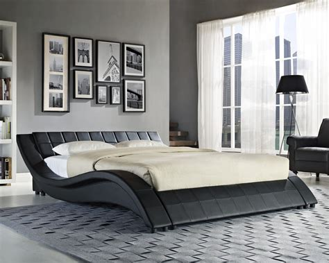 double king size bed double king size black white bed frame and with memory foam mattress 4ft6 5ft ebay