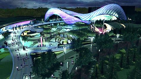 theme hotel tomorrowland disney unveils more details scale model of shanghai