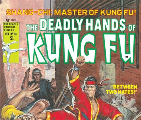 libro deadly hands of kung deadly hands of kung fu 1974 33 comics marvel com