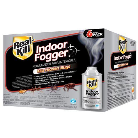 real kill  oz ready   indoor fogger  pack hg