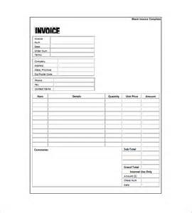 generic invoice template excel generic invoice template 8 free word excel pdf format