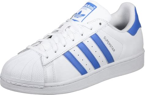 Adidas White Superstar adidas superstar shoes white blue