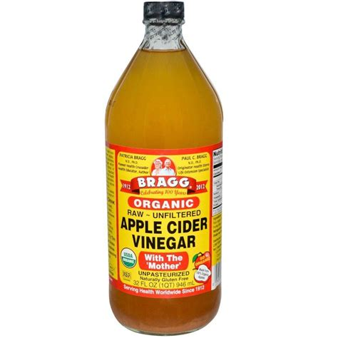 bragg apple cider vinegar 946ml organic go local