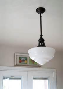 schoolhouse light for the dining room averie