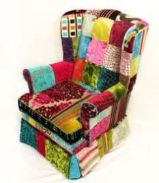 Patchwork Covered Chairs - 1000 images about sewing patchwork furniture on