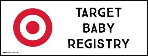 target baby registry card template target baby shower cimvitation