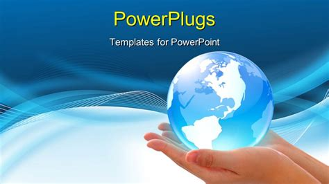 powerpoint template world concept photography world in and global