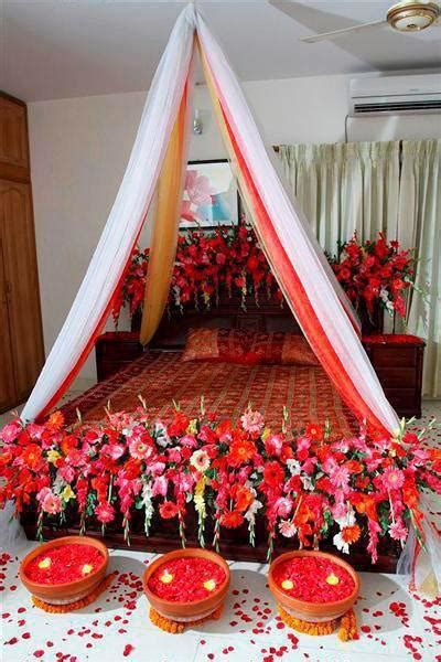 bridal wedding bedroom decoration designs ideas pictures