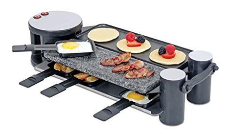 Raclette Grill Dubai by Swissmar Kf 77073 Swivel 8 Person Raclette With Granite