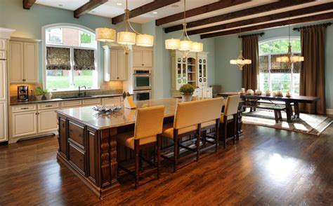 kitchen island traditional kitchen nashville