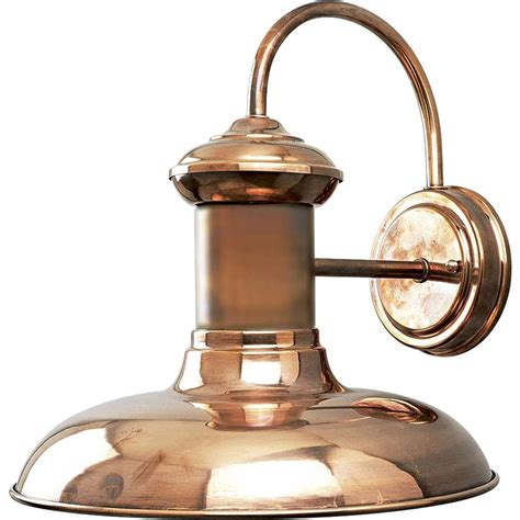 Copper Outdoor Light Superb Copper Exterior Lighting 6 Copper Outdoor Wall Light Newsonair Org