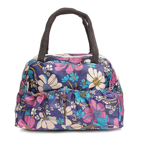 Portable Bento Lunch Box Bag Insulated Thermal Waterproof Picnic Carry Tote Ebay Template Insulated Lunch Tote
