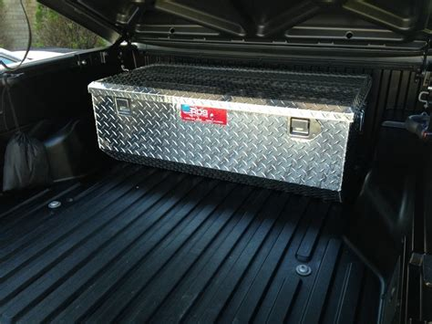 truck bed covers with tool box tool box under tonneau cover tacoma world
