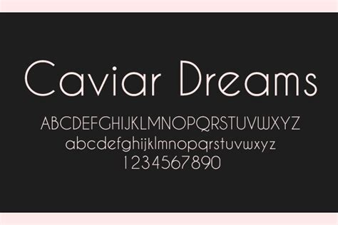 dafont caviar dreams caviar dreams font free font web free fonts pinterest