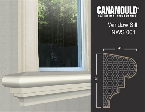 Window Sill Profiles Exterior Window Sills Canamould