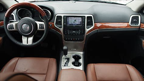 jeep grand interior 2013 2013 jeep grand overland review auto123 com