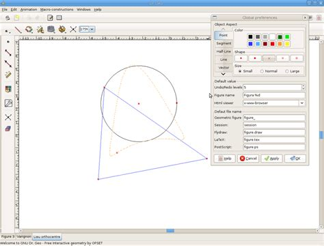 free scientific drawing software math software a program to draw simple geometry points