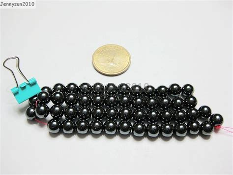 4mm Hematite Magnet magnetic hematite gemstones 16 4mm