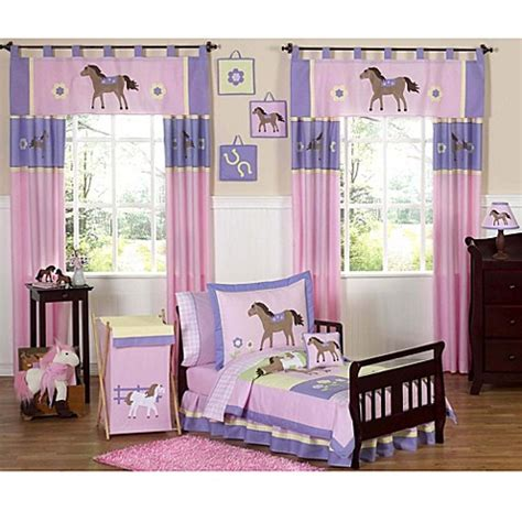 sweet jojo toddler bedding sweet jojo designs pretty pony toddler bedding collection