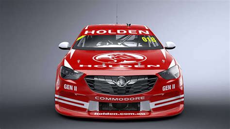 2018 Holden Commodore Supercars racer revealed with