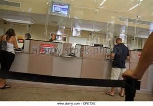 bank tellers customers stock photos bank tellers