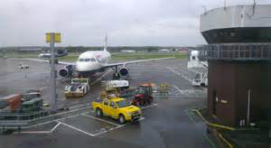 Car Hire Aberdeen Airport Uk Plane On The Apron At Aberdeen Airport 169 Mike Pennington