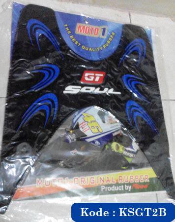 Karpet Motor Matic Surabaya karpet bordes injakan yamaha soul gt 110