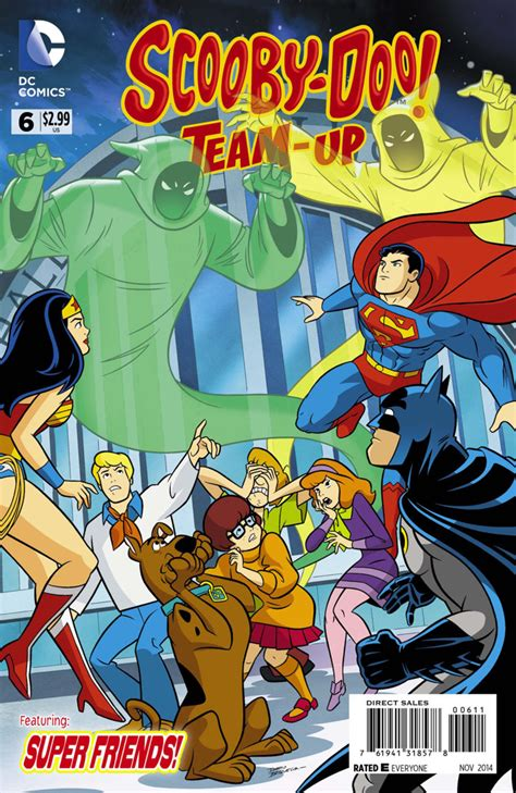 scooby doo team up 6 a super friend in need issue