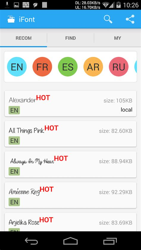 font apk ifont expert of fonts 5 8 7 apk android personalization apps