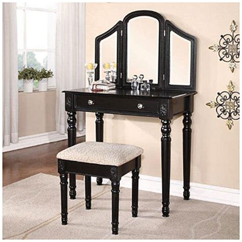 Big Lots Vanity Set by Black Trifold Vanity Mirror Set Big Lots