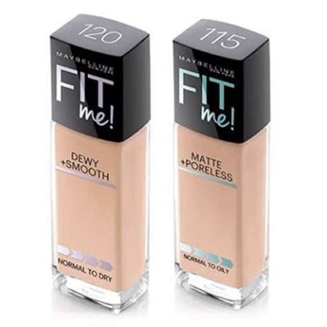 Maybelline Fit Me Foundation Indonesia maybelline foundation fit me dewy smooth shopee