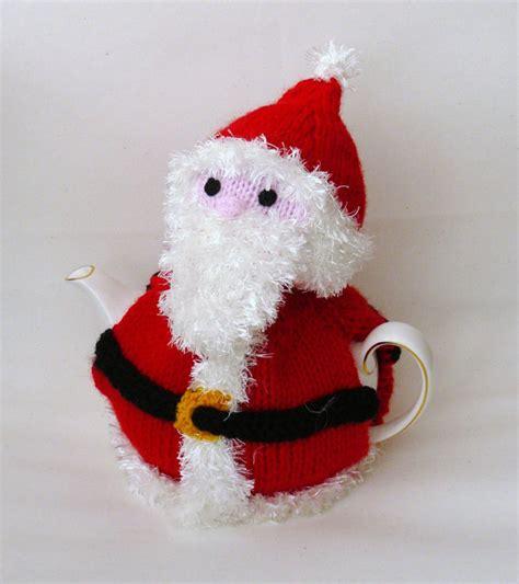 Handmade Santa Claus - handmade or santa claus tea cosy by