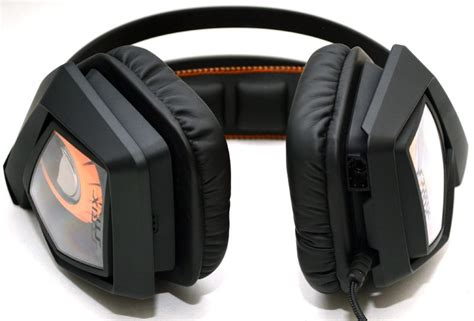 Headset Asus Strix Dsp asus strix dsp gaming headset review eteknix