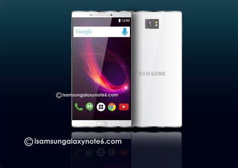 Samsung Galaxy Note 6 samsung galaxy note 6 gets renders of 2016 looking