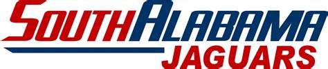 south alabama file south alabama jaguars wordmark png wikimedia commons