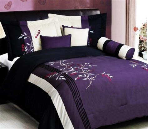 Black And Purple Bed Set 17 Best Ideas About Purple Bedding Sets On Purple And Grey Bedding Purple Gray