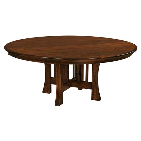 arts and crafts dining room table arts crafts round dining table home and timber