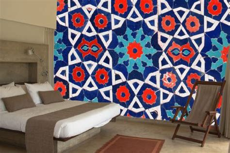moroccan tile zazous wallpaper murals