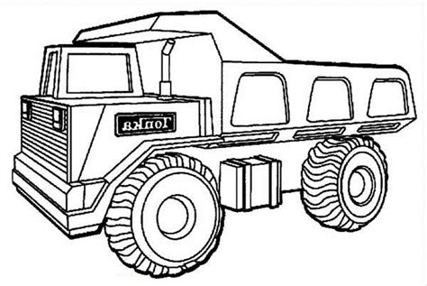 coloring page of dump truck 13 dump truck coloring pages for kids print color craft