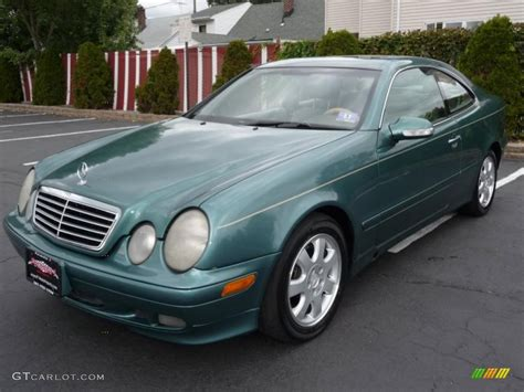 green mercedes 2000 mineral green metallic mercedes clk 320 coupe