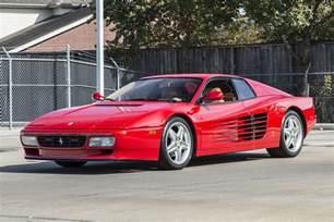 1992 512tr testarossa 512 tr rosso corsa