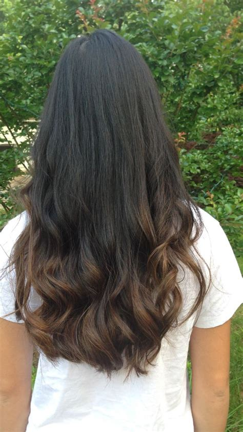 ombre hair on asian asian ombre hair with long layers and face frame asian