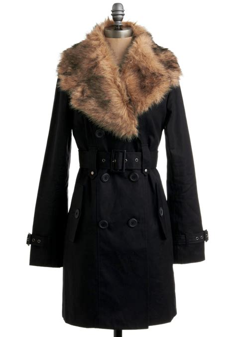 Black Tunik Cf 8 on a tide note swimsuit bottom in dinos faux fur collar fur collars and fur