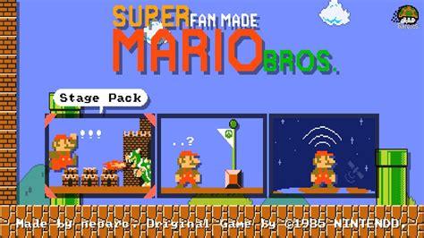 fan made mario games super fan made mario bros super mario maker fan game