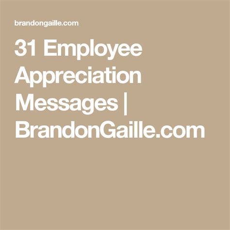 appreciation message to employees 17 best images about employee appreciation and on