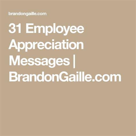 appreciation message to employees 25 unique appreciation message ideas on