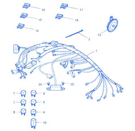 Honda Tiger Megapro Wiring Harness Aka Kabel triumph tiger 1050 wiring diagram triumph scrambler wiring diagram odicis