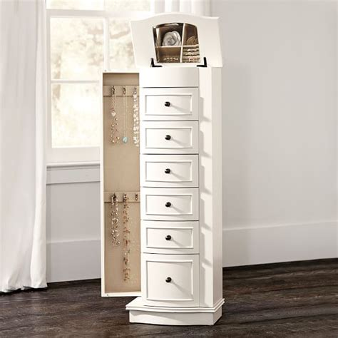 armoire for jewelry chelsea jewelry armoire pbteen