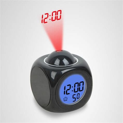 projection small alarm clock led projection clock creative projection clock creative night light